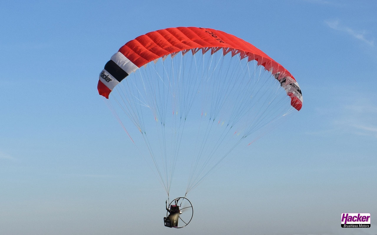 Para-RC Cloud 1.5 backpack set ARF (red)