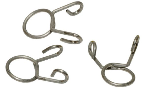 Hose clamps 0.24-0.28 in. (6-7mm), 4 pieces
