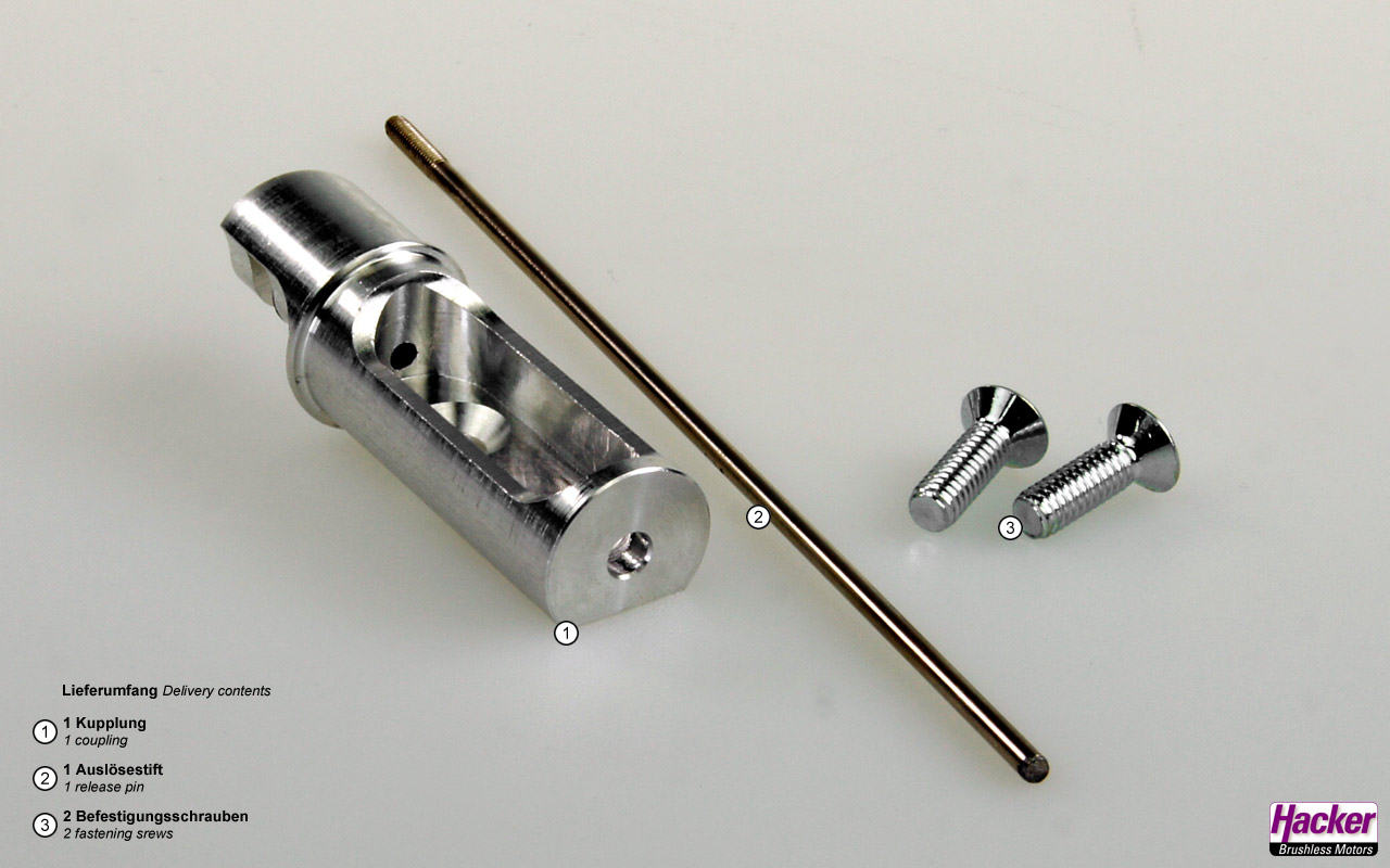 Tow coupling for frame mounting