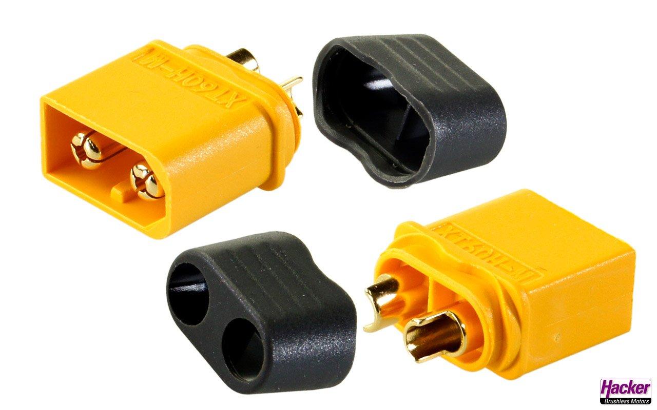 XT60+ plugs (5 pieces)