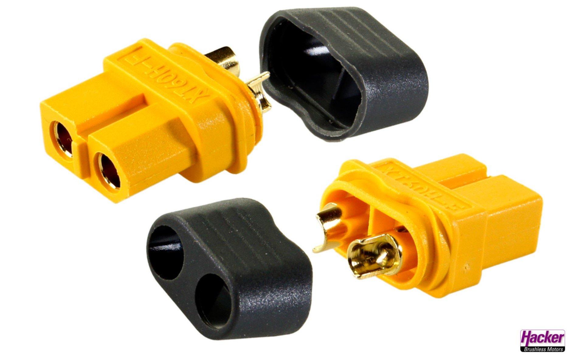 XT60+ sockets (5 pieces)