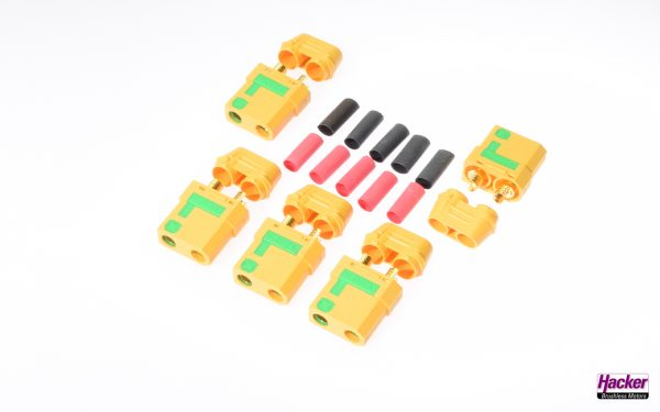 XT90-S connector with anti-spark, socket 5 pieces