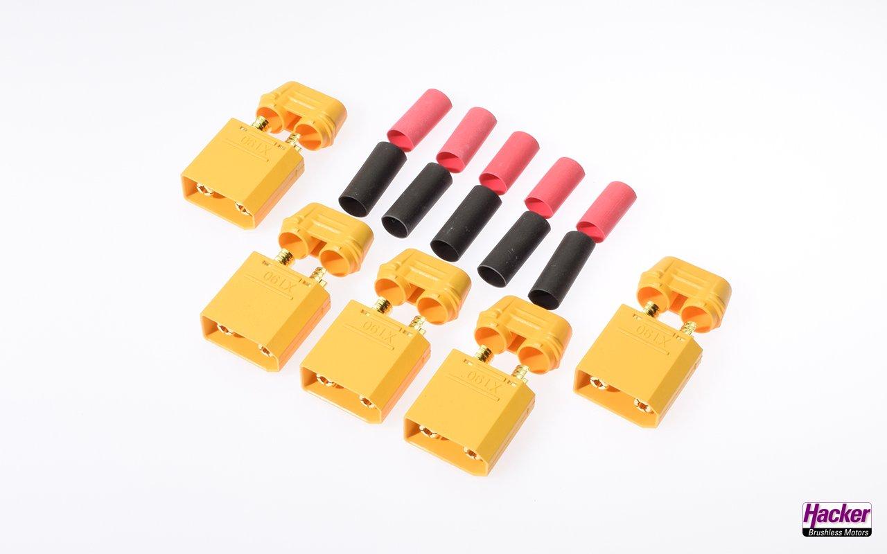 XT90 connector, plug 5 pieces