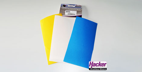 Para-RC repair cloth set for RC-FLAIR petrol / white / yellow