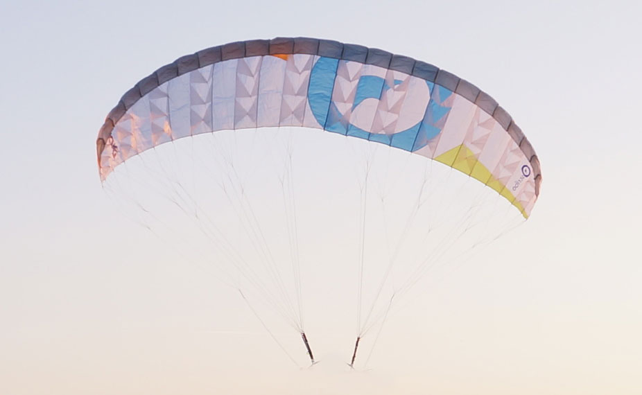"Para-RC paraglider ""Dudek S-Lite 1.5"" white"