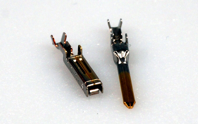 Pins for »click« connect Multipin connectors