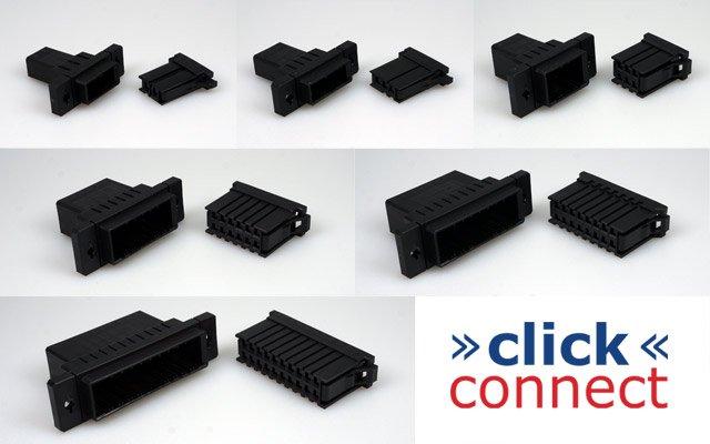 »click« connect multipin connectors