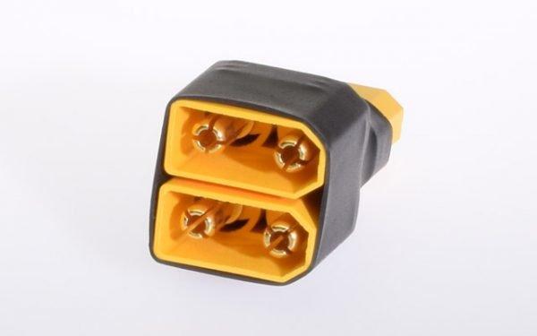 Short adapter XT90 2x battery parallel