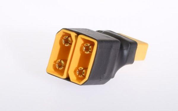 Short adapter XT90 2x battery serial
