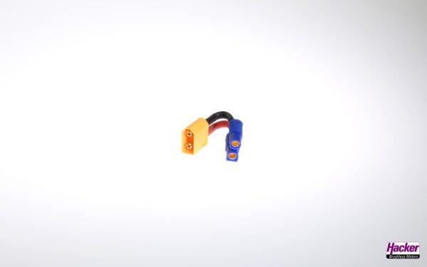 Adapter cable XT60 plug to EC3 socket