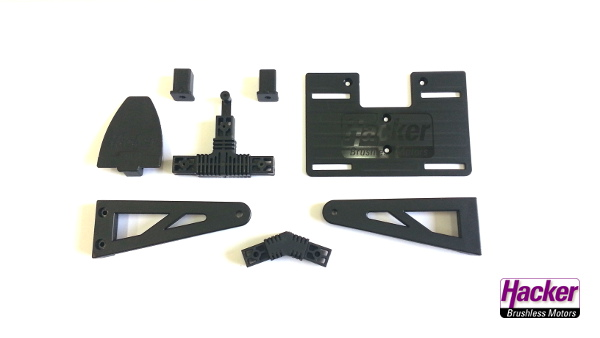 """Plastic Parts for Para-RC Trike """"Airbull Light"""""""