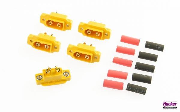 XT60E1 plugs (5 pieces)