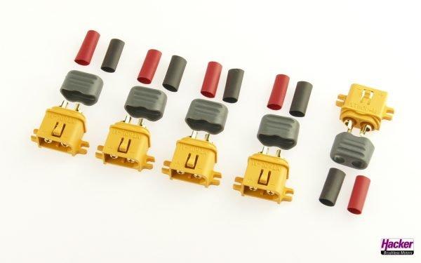XT60L+ plugs